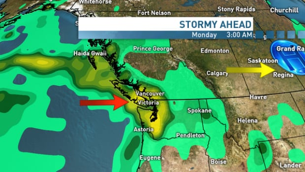B.C. Family Day long weekend weather outlook - South Coast - Monday