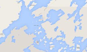 Map of Otter Lake