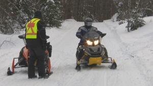 SQ snowmobile