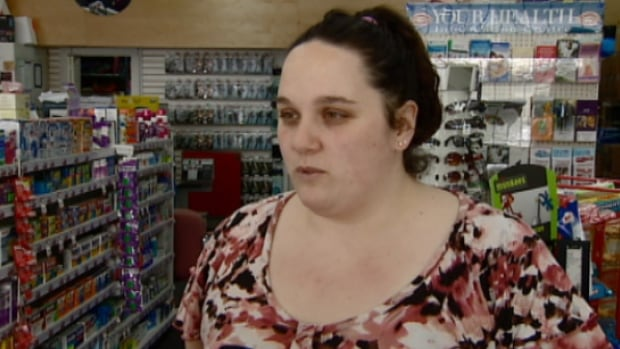 Samantha Relf, works at a pharmacy two doors down from a proposed liquor store says the strip mall has enough problems.