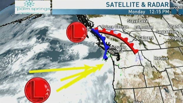 Low-pressure system to bring some warmth to B.C.