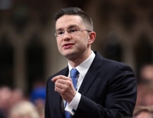 Democratic Reform Minister Pierre Poilievre