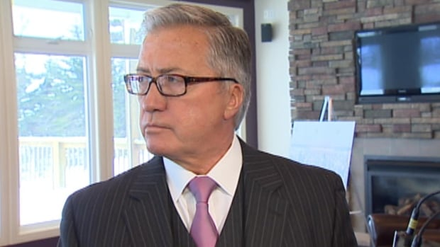 Danny Williams does not want Bill Barry to become Newfoundland and Labrador's next premier.