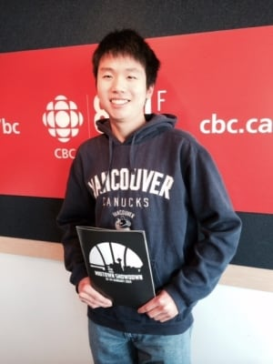 Sean Wu dreams of becoming a sports writer