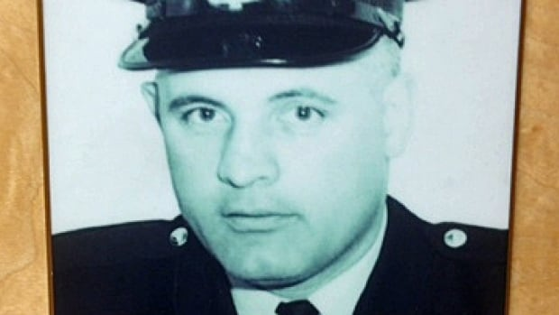 Sergeant Laurier Quesnel was shot outside a home on King Street in Sudbury's Flour Mill neighbourhood in October 1965.