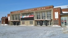 sudbury arena winter