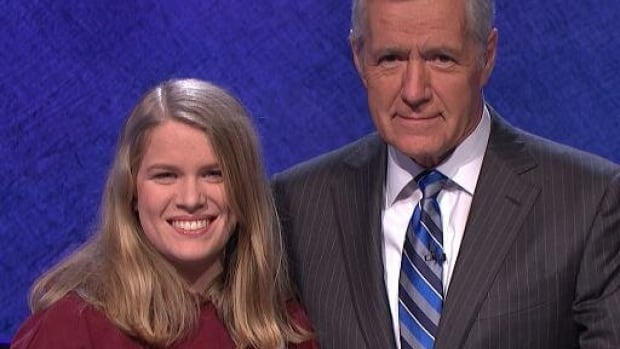Saskatoon's Julia Clark was a competitor in the Jeopardy! College Championships.