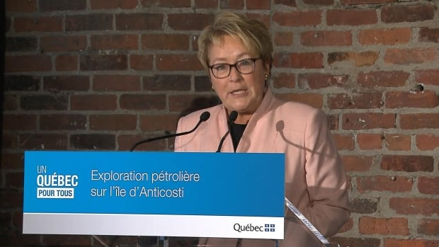 Quebec Premier Pauline Marois announced the partnership to take a controlling interest over Anticosti Island oil exploration.