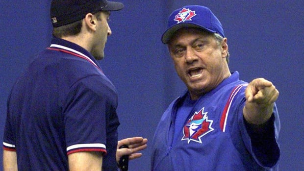 Former Blue Jays manager Jim Fregosi, seen here arguing home plate umpire Jim Lamplugh in July 2000, also managed the club during the 1999 season. Fregosi, who died Friday at age 71, served stints as a manager with the California Angels, Chicago White Sox, Philadelphia Phillies and Toronto.