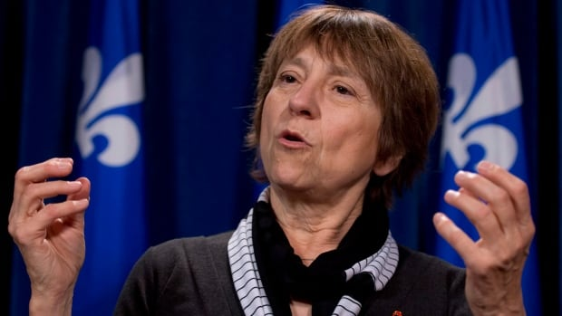 Quebec Solidaire co-spokesperson Françoise David won her first election in 2012.