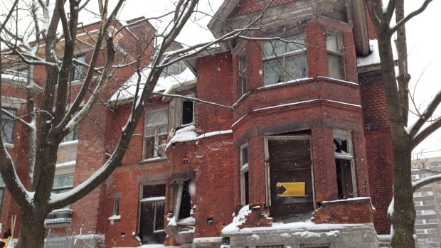 Demolition of the Redpath Mansion in downtown Montreal is suspended for the next 30 days, after Quebec's culture minister intervened in the file.