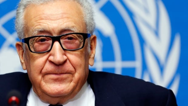 "UN-Arab League envoy for Syria Lakhdar Brahimi has talked of the enormous challenges getting in the way of progress at the Geneva talks, telling reporters on Friday that ""failure is always staring at us in the face."""