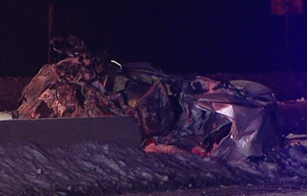 Fatal crash Highway 174 Trim Road SIU Ottawa police wreck