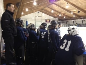 Rivers West takes on Saskatoon in Bantam Hockey
