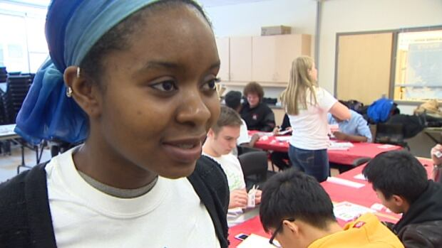Habiba Cooper Diallo said Halifax West's diversity made it an ideal place to help the campaign.