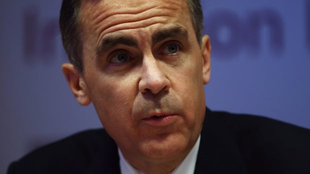 Bank of England Governor Mark Carney speaks during the bank's inflation report news conference in London, on Feb. 12, 2014. He told homebuyers and businesses that U.K. interest rates won't rise any time soon because the economic recovery is still fragile.