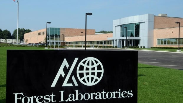 The Commack, N.Y., branch of Forest Laboratories, a Manhattan-based pharmaceutical company, is seen in this Aug. 4, 2004, file photo. Actavis PLC plans to buy Forest Laboratories Inc. in an approximately $25 billion cash-and-stock deal.