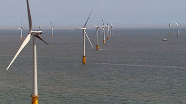 The largest offshore wind farm in the world is Thanet, off the southeast coast of England, with 100, three-megawatt turbines covering 35 square kilometres.