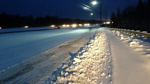 Halifax police are urging drivers to slow down. Several cars are already off the road.