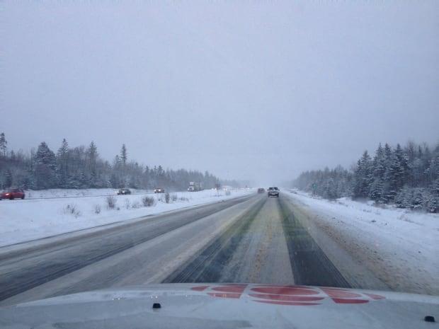 Road conditions Feb. 19
