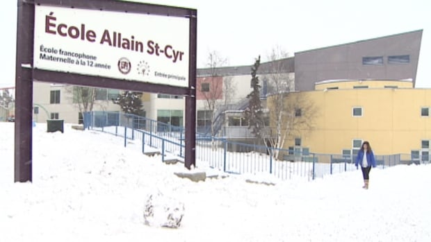 Allain St-Cyr school in Yellowknife. The Government of the Northwest Territories has been ordered to expand services to the francophone schools in Yellowknife and Hay River. Whether and how to do that is still under discussion.