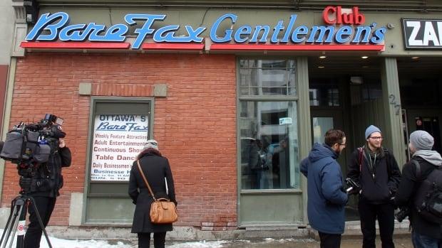Suspended Senator Patrick Brazeau has found work at the Bare Fax strip club near Parliament Hill in Ottawa.
