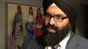 Alberta's Human Services Minister Manmeet Bhullar