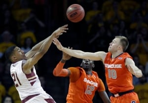 Syracuse Boston College Basketball Olivier Hanlan