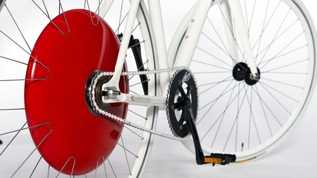 The Copenhagen Wheel transforms standard bicycles into electric hybrids, and people in B.C. and across Canada are already shelling out big bucks to get it.