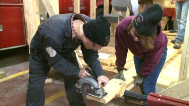 Eight Ryerson University students are spending their spring break in Botwood to work on a unique community project.