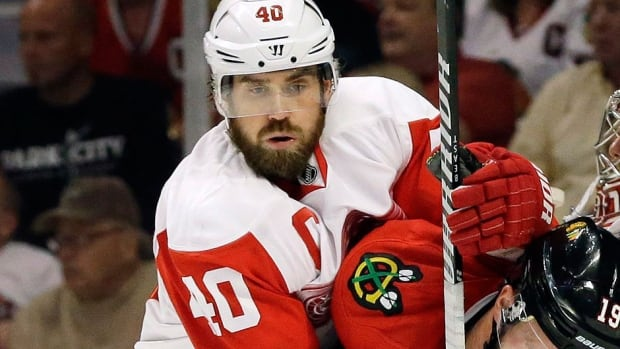 Red Wings captain Henrik Zetterberg played through the pain of a herniated disk in his backand scored a goal in Sweden's opening victory over the Czech Republic in its Olympic opener in Sochi, Russia. He had surgery Friday and will be re-evaluated in two months.