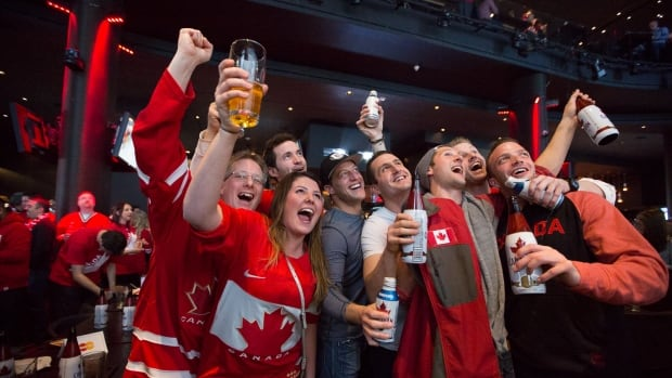 It's a bright and early start for those who want to watch the Olympic gold medal hockey game between Canada and Sweden Sunday at 7 a.m.