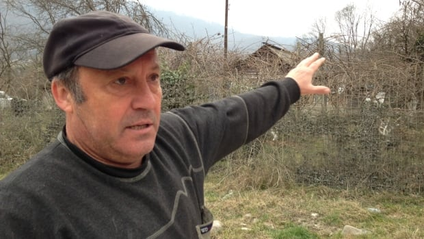 Alexander Koropov, a resident of the small Russian village of of Ashtyr, located near the Sochi Olympics site, says construction of the Games has had a devastating impact on the local environment.