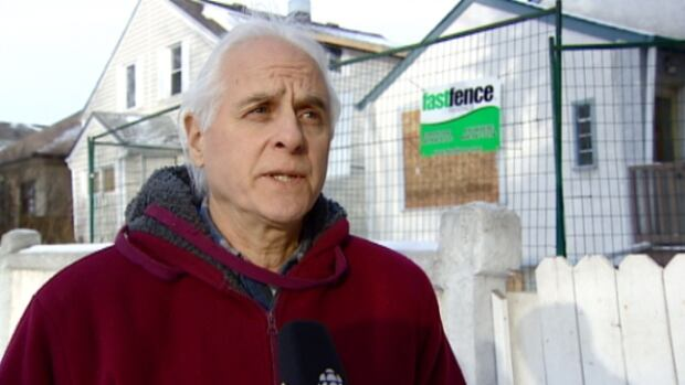 Glen McLean said the house and the people it attracted made him  worry for his safety. Once the 90-day closure is over, he is hoping a family will move in.