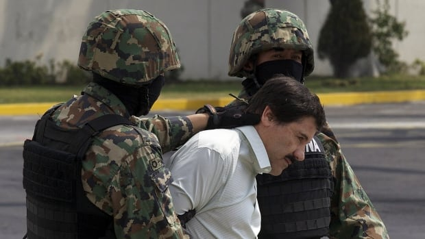 Joaquin 'El Chapo' Guzman, the head of Mexico's Sinaloa cartel, faces multiple federal drug trafficking indictments in the U.S. and is on the Drug Enforcement Administration's most-wanted list.