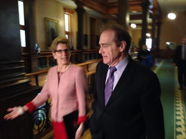 Kathleen Wynne and Norm Kelly