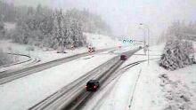 Nanaimo snow