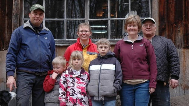 The Seguin family produces honey at their Creekbend Farm and maple syrup at their Seguin Sugar Bush. Their three children — Francis, Alexina, and Calyx — were hit by a car in February in North Bay, and were left injured to varying degrees in the incident.