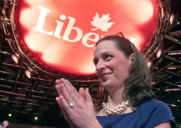 Anna Gainey at the Liberal Convention