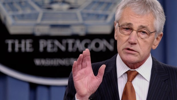 U.S. Defence Secretary Chuck Hagel has proposed reducing the size of the active-duty army from 522,000 soldiers to between 440,000 and 450,000, the smallest it's been since the start of the Second World War.