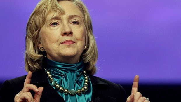 Hillary Clinton speaks in New Orleans in January, fuelling speculation that she is preparing for another presidential run.