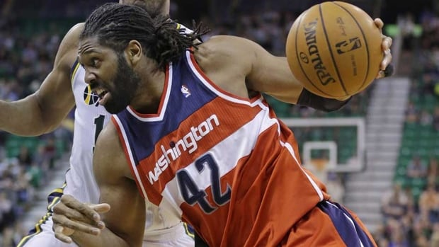 Nene is averaging 14.2 points, 5.8 rebounds and 3.0 assists in 30.1 minutes.