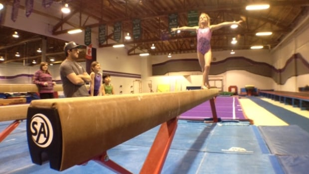 Sophie Tesar practises in Prince Albert. Gymnastics is one of the sports that will benefit from the community having hosted the Saskatchewan Winter Games.