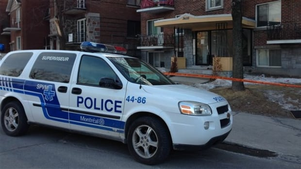 Montreal police are investigating a fatal stabbing at an apartment on Sherbrooke Street East.
