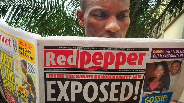 "The Ugandan tabloid newspaper Red Pepper published a list Tuesday of what it called the country's ""200 top"" homosexuals, outing some Ugandans who previously had not identified themselves as gay."