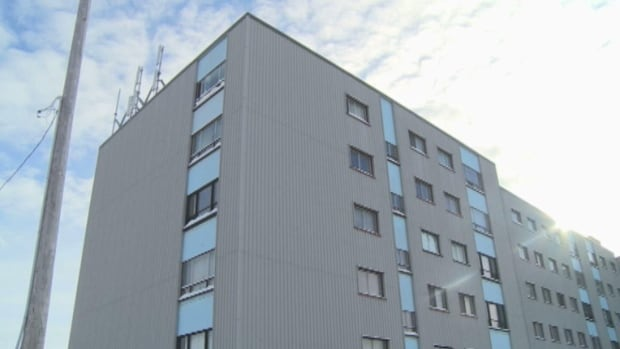 The five-storey Embassy Apartments building in Labrador City is just one example of why the local fire chief says the region needs a fire ladder truck sooner, rather than later.