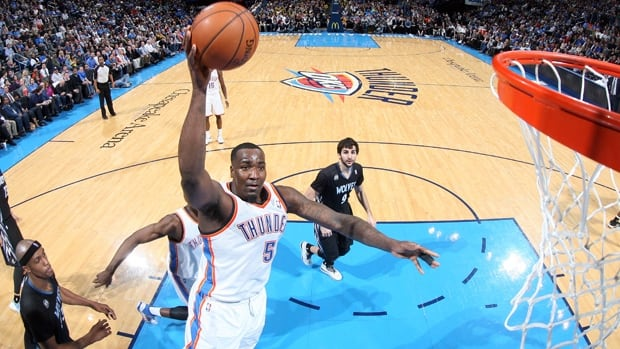 Kendrick Perkins underwent a medical procedure on Monday and will be out of the Oklahoma City lineup for at least six weeks, the team announced on Tuesday.