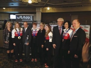 Junos and curlers
