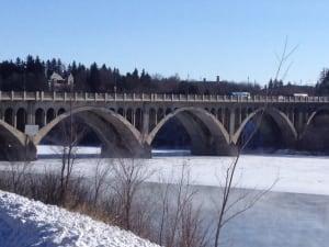 Saskatoon's university bridge
