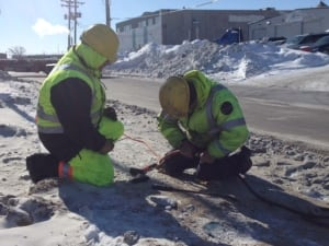 Frozen pipe repairs Winnipeg